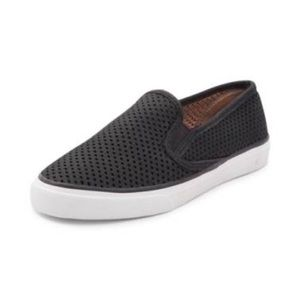 Sperry Tip-Sider Seaside Perf Slip On | Black | 7